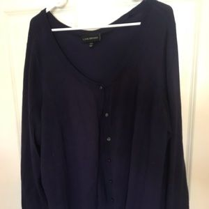 Lane Bryant Button Up Sweater